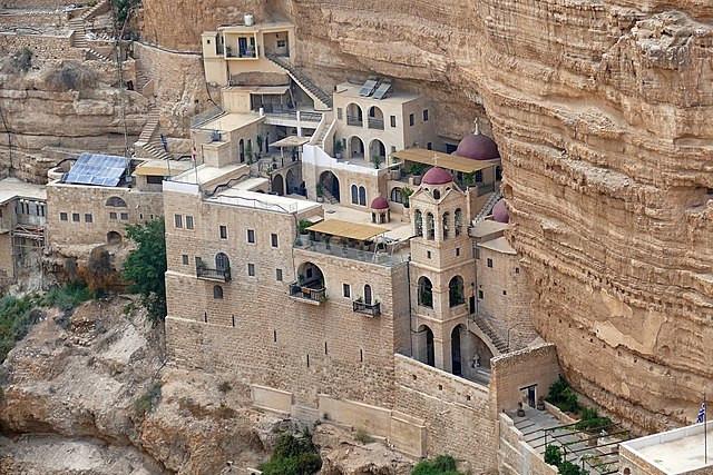 St. George's Monastery overlooking the Kidron Valley