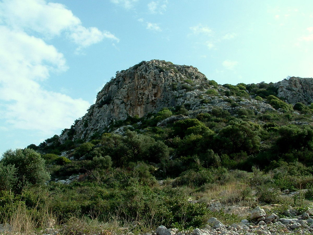 The Carmel Mountain which is included on the route of the Israel National Trail