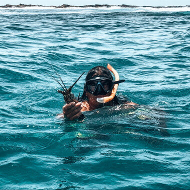 lobster-on-a-snorkeling-tour-to-the-pink-sand-island-playa-garza-playa-guiones-nosara-costa-rica-viberts-secret-spot.jpg