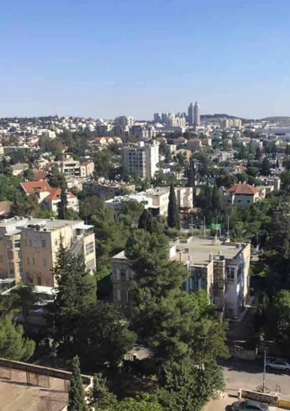 Birdseye view of Jerusalem
