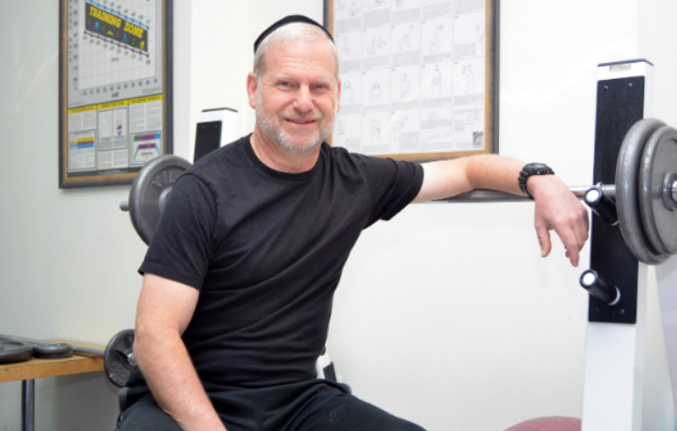 Alan Freishtat, certified personal trainer and wellness coach