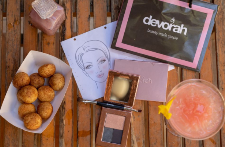 The Makeup Party in a Box items by Devorah Cosmetics