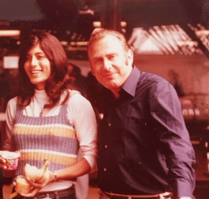Amitsur and Esther in Munich 1972