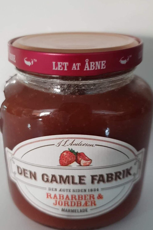 Jordbær/Rabarber Marmelade