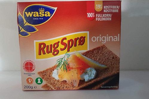 Knækbrød Rugsprø Original