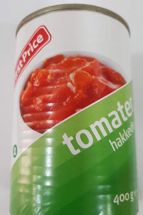 Hakkede Tomater