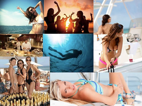 Oh La La Mosae Party Planning the Luxury of Beauty on a cruise