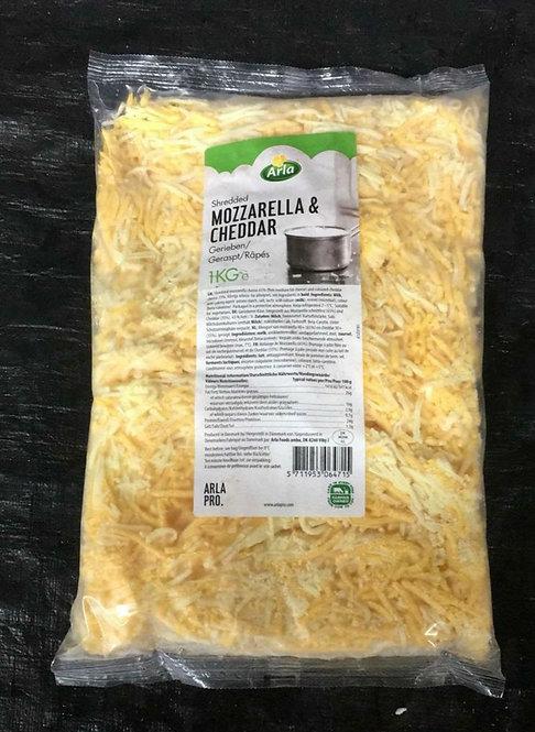 丹麥雙色芝士碎 1kg