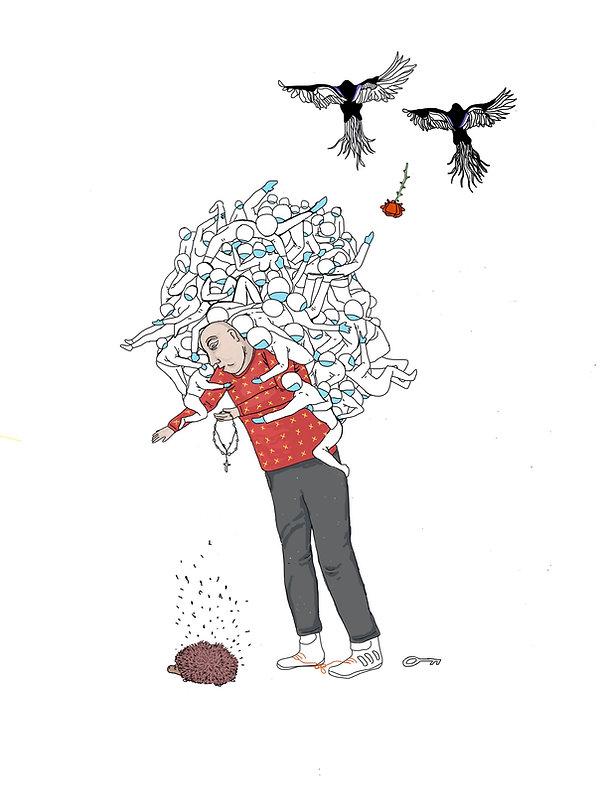 Witches wart. Digital illustration