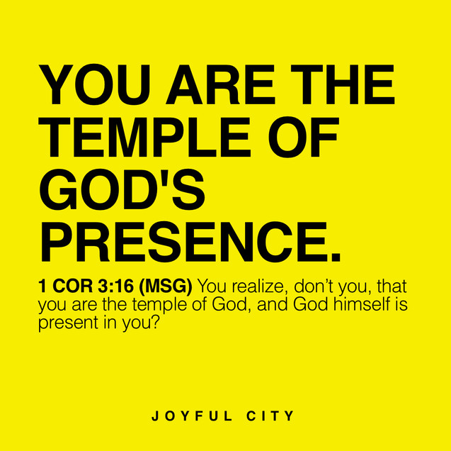 You Are God's Temple!