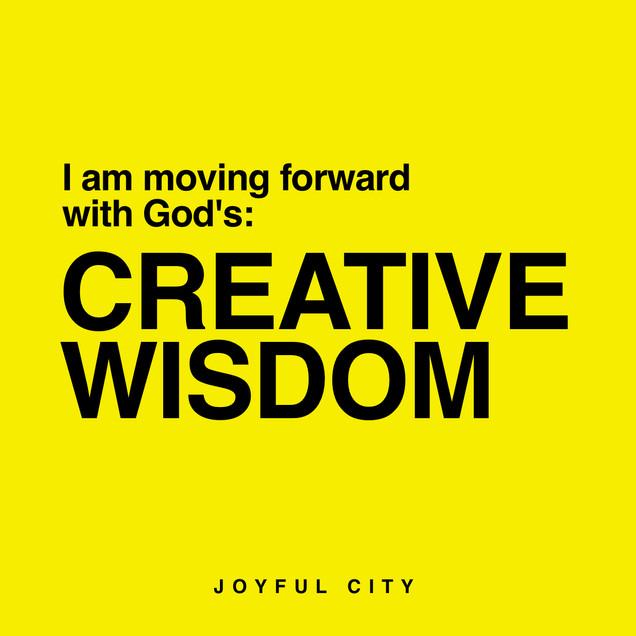 God is Releasing Creative Wisdom!