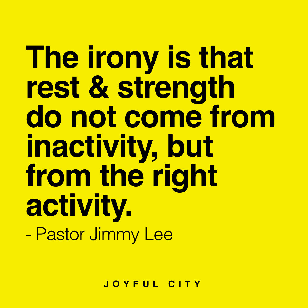 Soul Food | Joyful City Church | International Bilingual