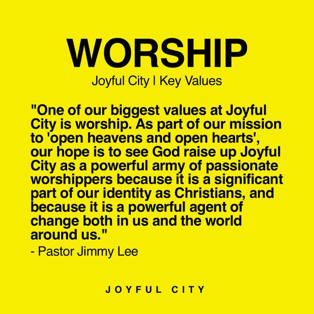 Worship is Powerful!