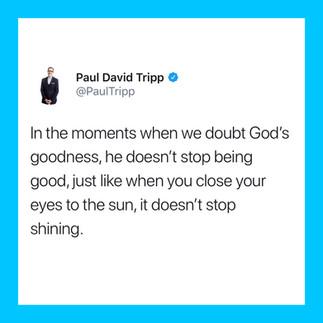 God Is Faithfully Good