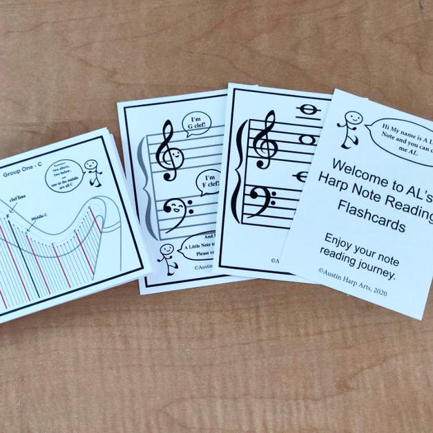 Harp Flash Cards