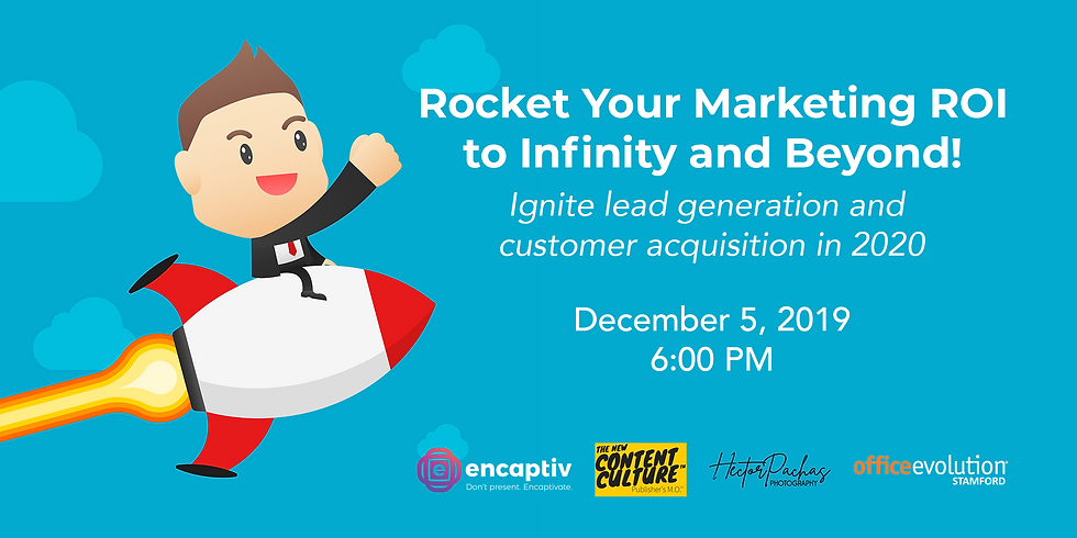 Rocket Your Marketing ROI - To Infinity and Beyond