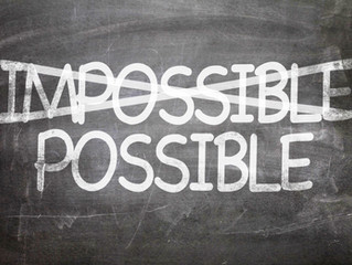 Turn Impossible Into Possible