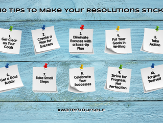 10 Tips to Make Your Resolutions Stick