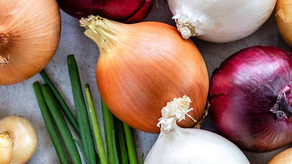 Onions Cooking Class - 9/19/20