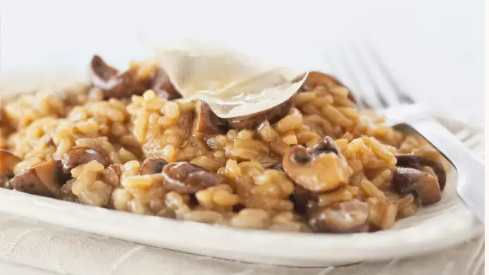 Mushroom Risotto Cooking Class - 9/12/20