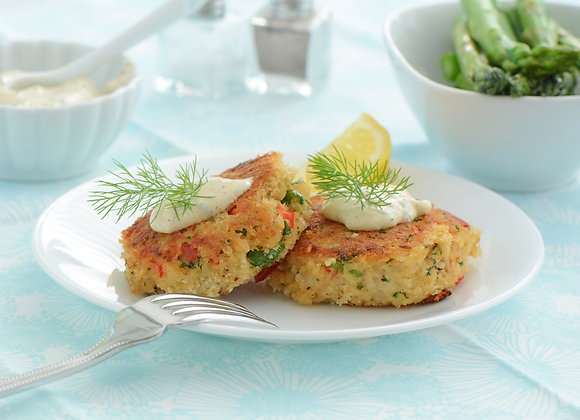 Crab Cakes and Sauces Cooking Class - 8/15/20
