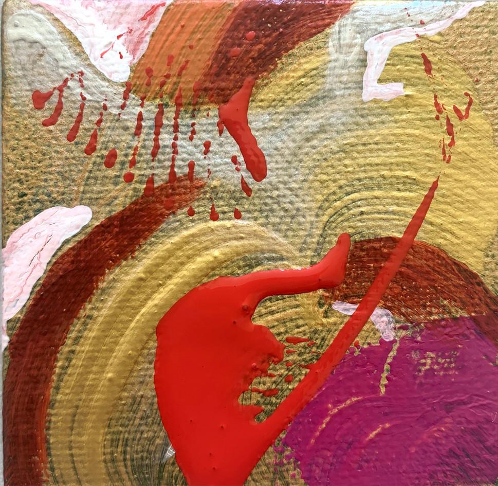 Acryl auf Leinwand 6,5x6,5