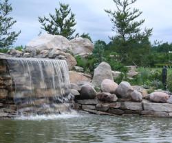 водопад теньки
