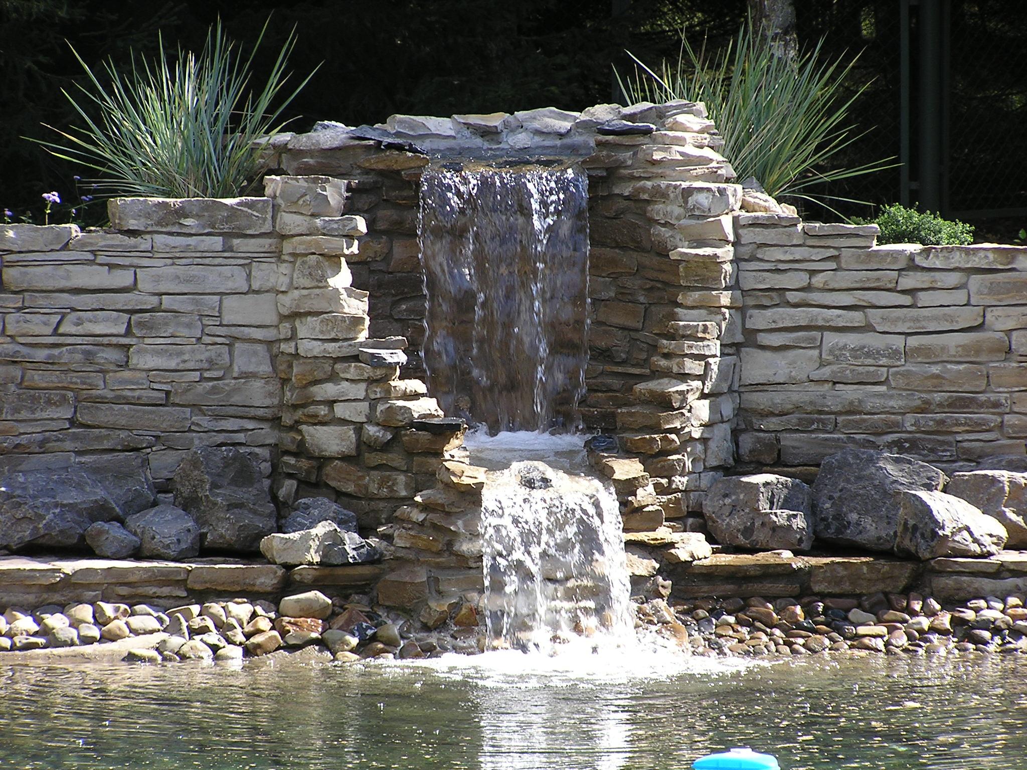 водопад колодец