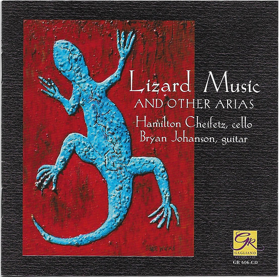 Lizard Music and other arias - CD