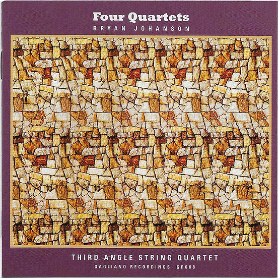 Four String Quartets by Bryan Johanson - 2CD