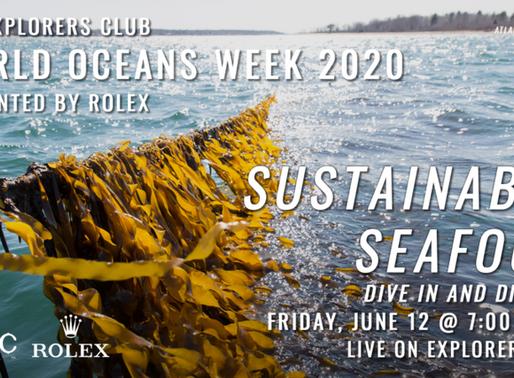 The Explorers Club x Oceanium: World Ocean Week 2020