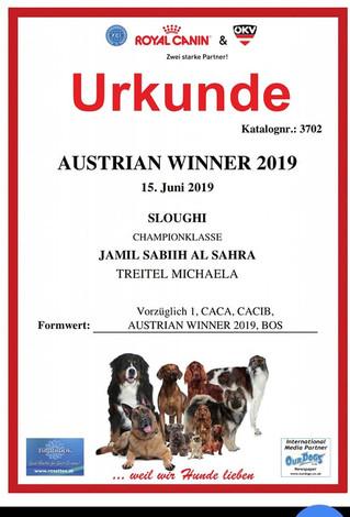 Austrian Winner Show