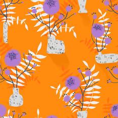 Orange wild flower