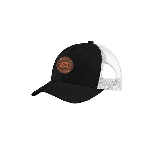 Curved Trucker Hat (Leather)