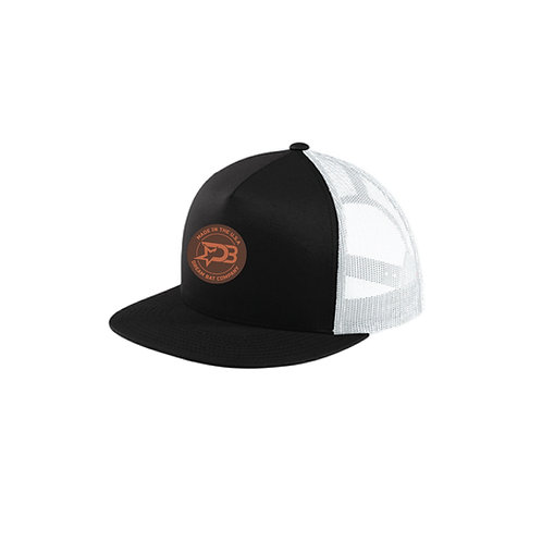 Classic Trucker Hat (Leather Patch)