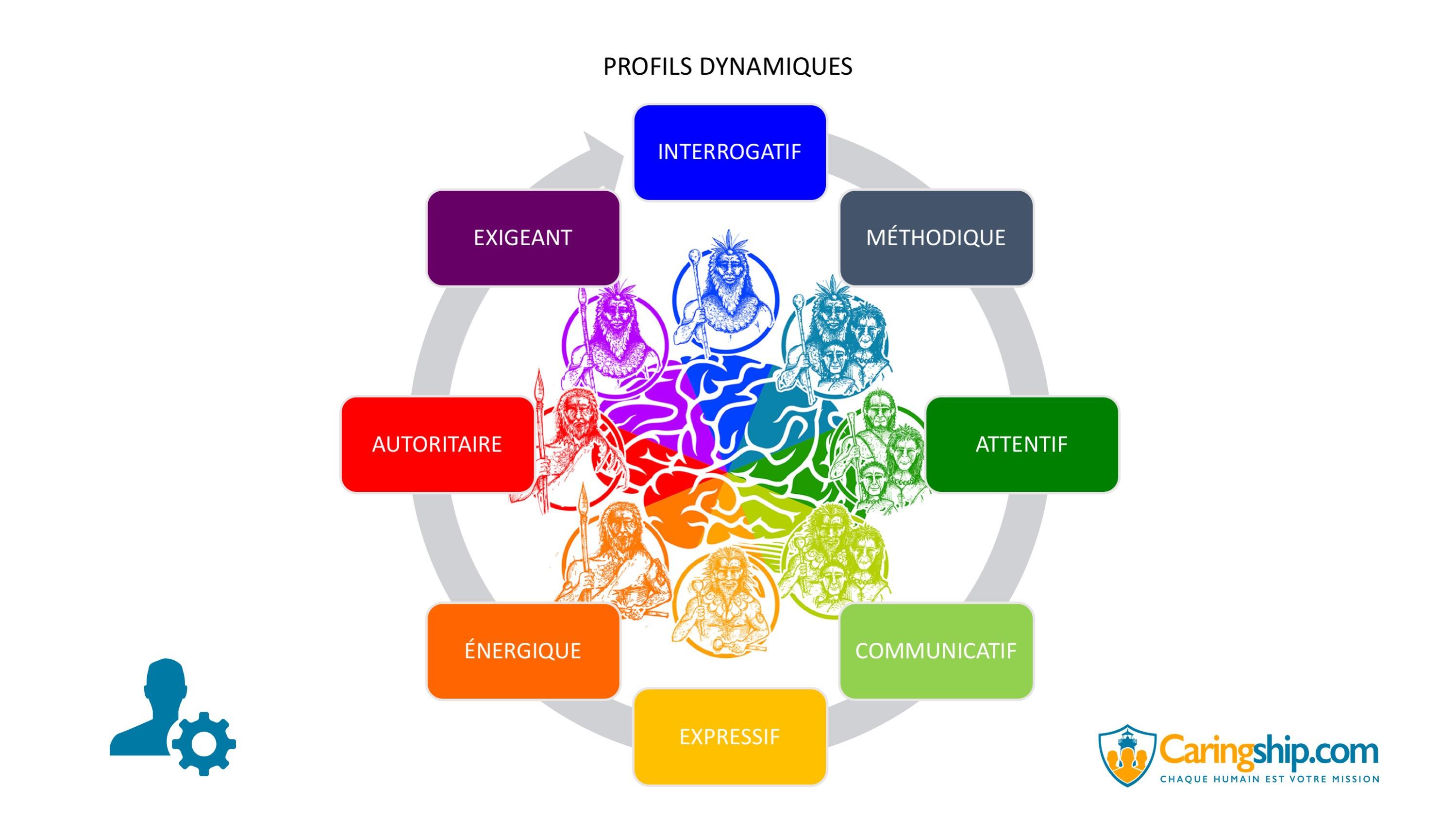 Profils dynamiques Caringship©