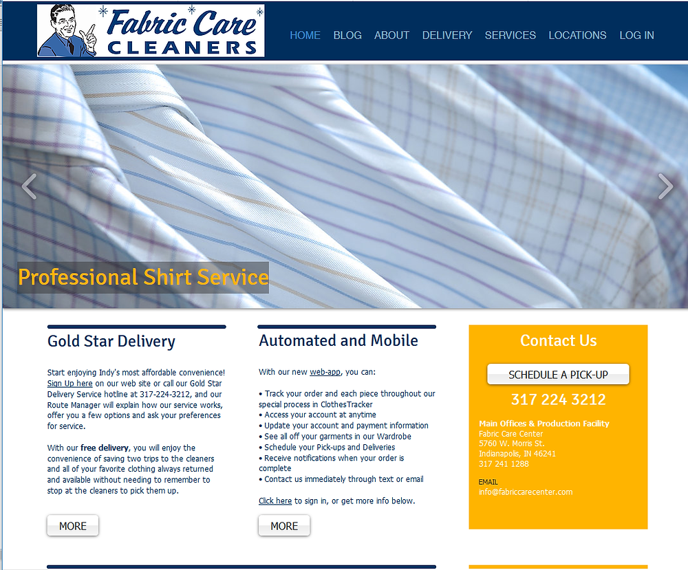 Fabric Care Cleaner New Website