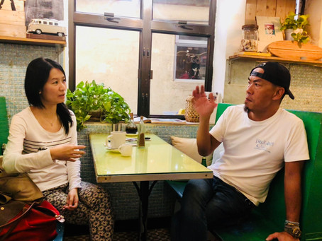 Interview 1 :  Vegetarian Chef Ken