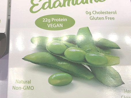 Edamame Soybeans & Plastic