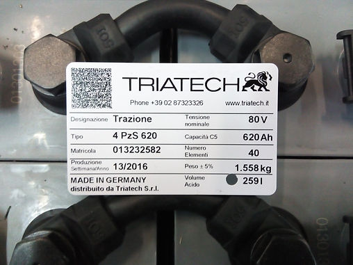 Batteria Triatech