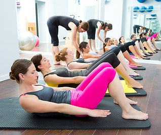 Cours collectifs Pilates