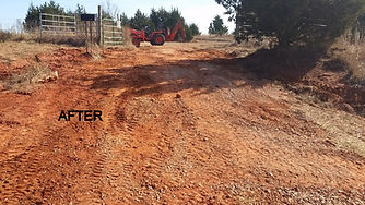 Driveway repair and drainage