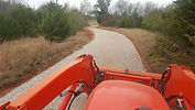 Driveway gravel repair