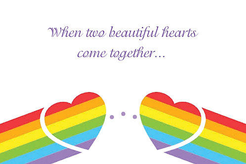 When Two Beautiful Hearts Come Together....