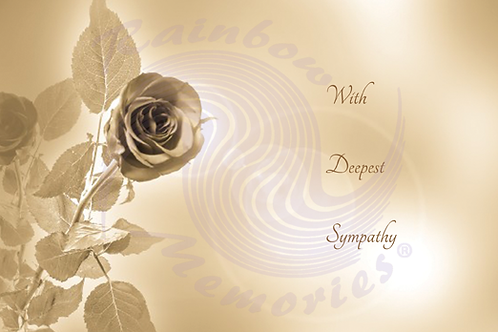 With Deepest Sympathy  (III)