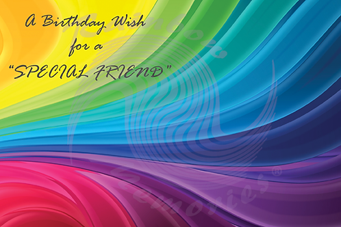 A Birthday Wish For A Special Friend