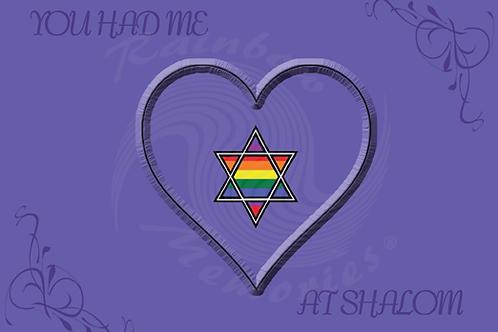 You Had Me At Shalom