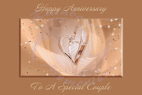 Happy Anniversary To A Special Couple