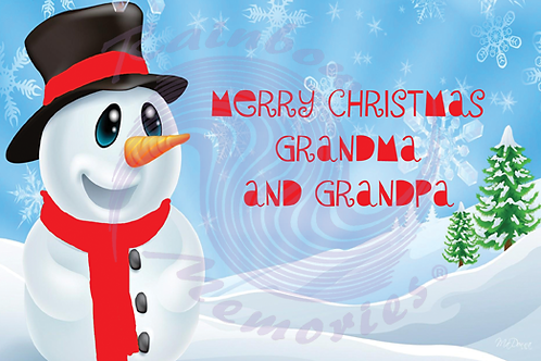 Merry Christmas Grandma And Grandpa