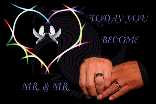 Today You Become Mr. & Mr.